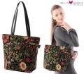 ドイツ製ゴブラン織花柄トートバッグ