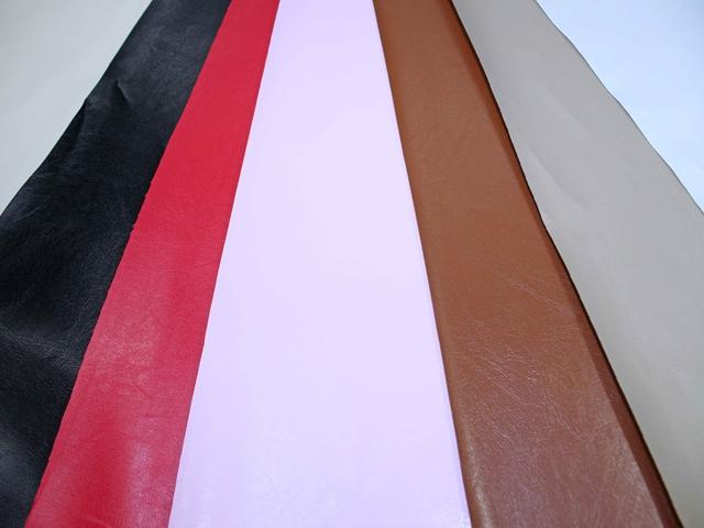 バッグ等の裏地に最適な資材用合皮 オスカー(0360)【メール便不可】 PU フェイクレザー