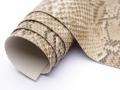 ※在庫限り※【メール便不可】合皮生地 サンレモ(本物の蛇革のような合皮)(0361) | PVC フェイクレザー