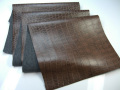 【メール便不可】合皮生地 ミルキーウェイMW8200(クロコダイル柄の合皮)(0532) |  PU フェイクレザー