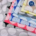 【新色追加】【メール便2mまで】10キャンバスあじさい柄(1188) 花柄 フラワー あじさい 紫陽花 北欧 シンプル  雑貨 インテリア おしゃれ オックス 生地 メール便OK