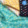 【メール便2mまで】プチハートコットンプリント生地(6114-1)   手作り 洋服 雑貨 メール便OK