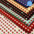 【メール便2mまで】プチストロベリーコットンプリント生地(6114-3)   手作り 洋服 雑貨 メール便OK