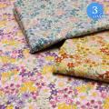 【メール便2mまで】スイートフラワーブーケブロード生地(6163) | 手作り 洋服 花柄 メール便OK