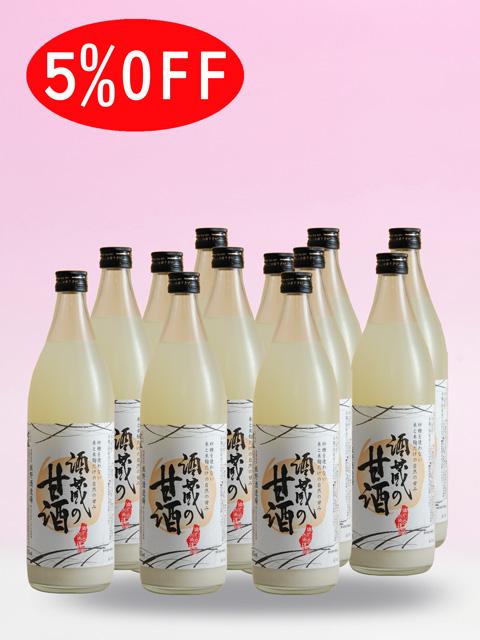麹甘酒 飲む点滴 酒蔵の甘酒 12本入