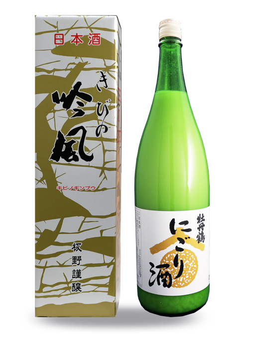 牡丹鶴 にごり酒 火入れ 1.8L