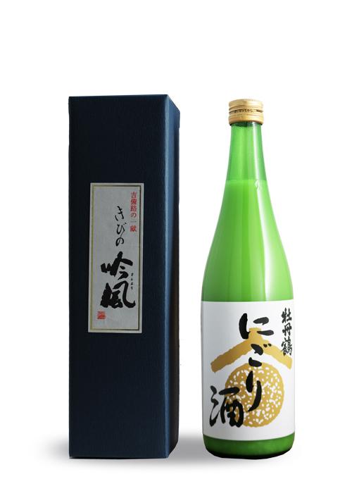 牡丹鶴 にごり酒 火入れ 720ml