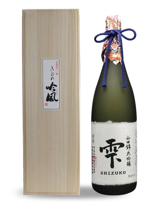 大吟醸 山田錦 雫酒 1.8L