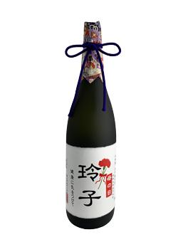 母の日名入りラベル大吟醸雫酒1.8L