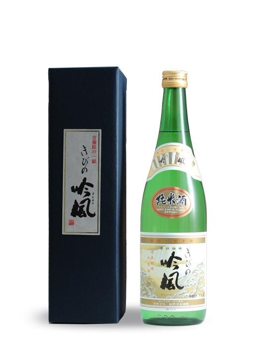 きびの吟風 吉備津蔵 純米酒 720ml