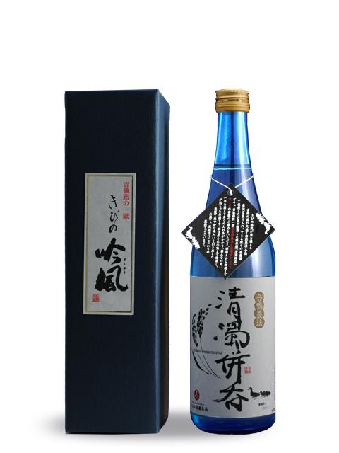 清濁併吞 720ml  合鴨農法朝日米 山廃純米酒