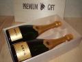 シャンパン用木箱 2本用