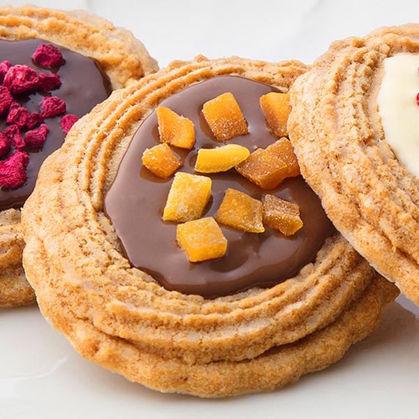 フルーツクッキーミルクチョコ 1入