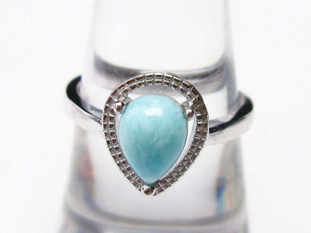 ラリマー指輪(17号)