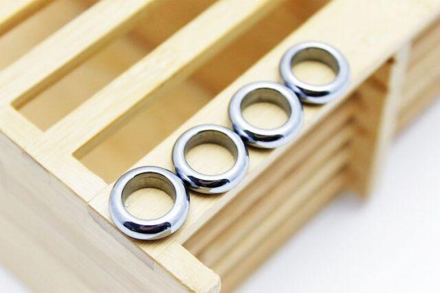 テラヘルツ鉱石 ピンキーリング 指輪9mm