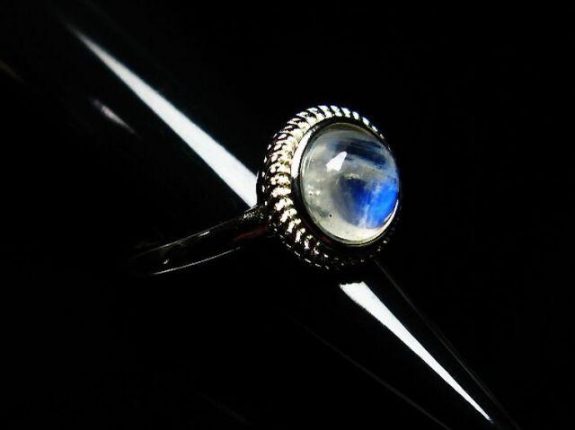 ムーンストーン指輪(15号)