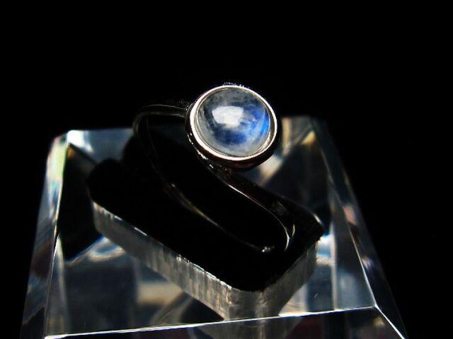 ムーンストーン指輪(21号)