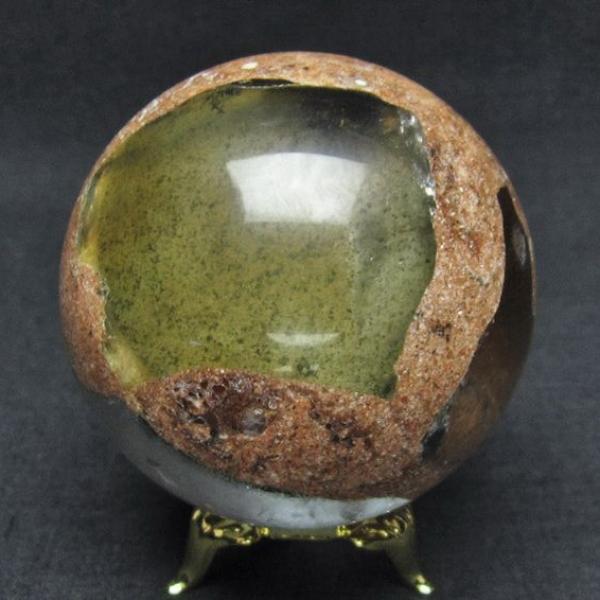 ガーデン水晶丸玉59mm[T637-3671]