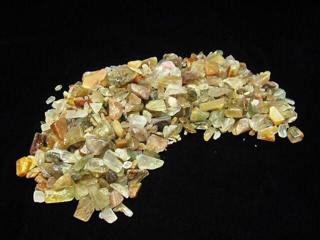 金針ルチル水晶さざれサイズ:中