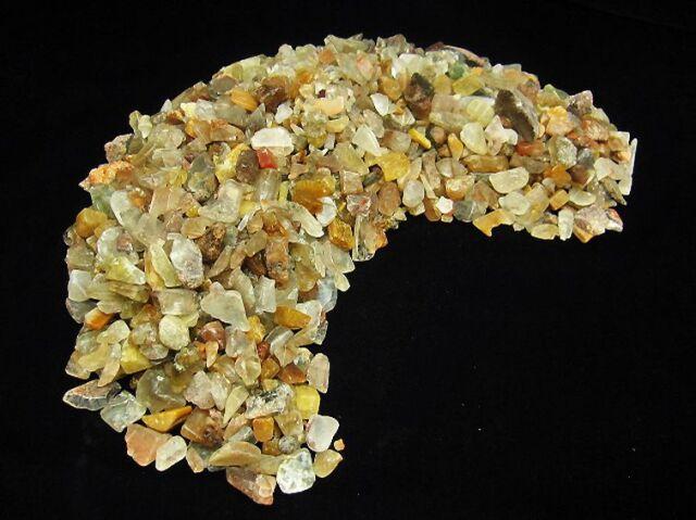 1Kg 金針ルチル水晶さざれサイズ:中
