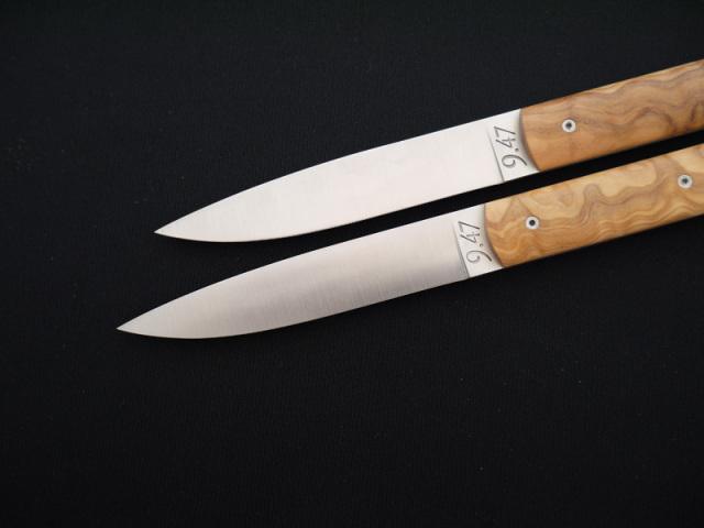 [テーブルナイフ]ペルスヴァル/PERCEVAL 9.47 ウッドハンドル【6本セット】
