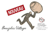【予約商品】【2021nouveau】[赤]カリーム・ヴィオネ/Karim VIONNET ボージョレ・ヴィラージュ・ヌーヴォー 2021