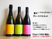 [お得なワインセット][送料&クール便無料]夏のサンスフルセット(ワイン3本入り)