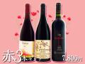 【お得なワインセット】夏の赤ワイン3本セット<数量限定>