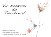 【2018nouveau】[赤]ル・クロ・デュ・テュ=ブッフ/Le clos du Tue-Boeuf ヴァン・ヌーヴォー・デュ・テュ=ブッフ2018
