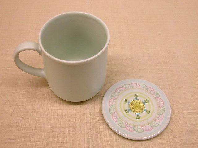 銀河の器 マグカップ(蓋付)《神坂新太郎氏(koro先生)が発明したE水を生成》