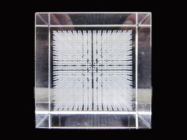 ダ・ヴィンチキューブ「 メサイア 」《クリスタルガラス》【ダビンチキューブ・ダヴィンチキューブ】