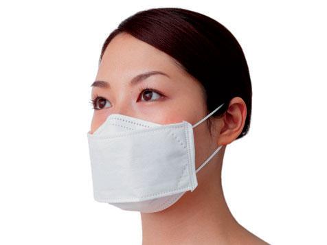 高機能マスク「インフルライフセーバー立体(3D)型」30枚入