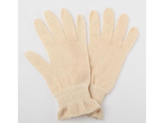 おやすみ手袋 きなり色《ヘンプシリーズ》