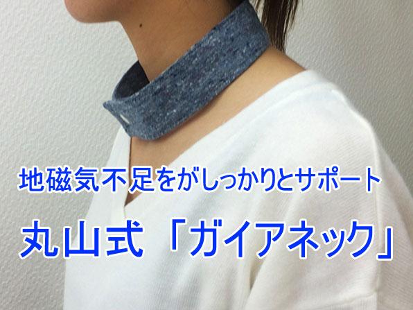 丸山式「ガイアネック」【地磁気不足をがしっかりとサポート】