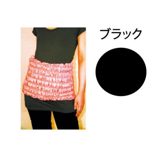 ボディウォーマー(ブラック)【ヒートレイシリーズ(オーラストーン)】main