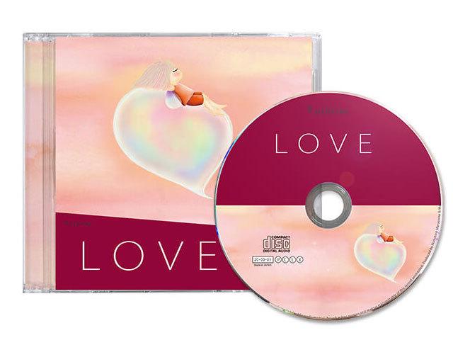 癒しのエネルギーをもたらすクスリネ「LOVE」CD main
