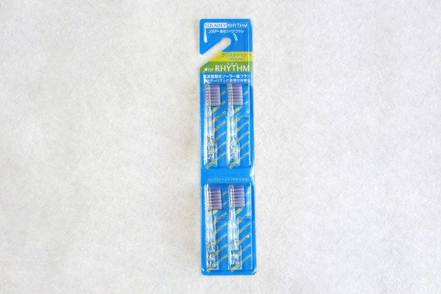 ソラデーリズム付け替え用歯ブラシ4本セット