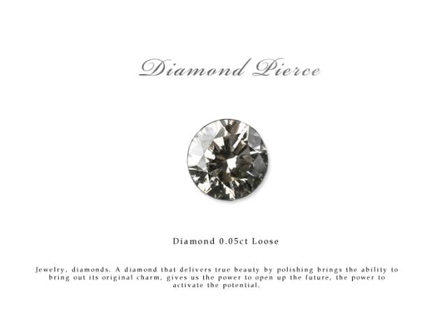 ネイルやプレゼントにおすすめ ダイヤモンド ルース 裸石 ダイヤモンド 0.05ct