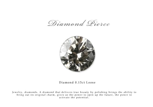 ネイルやプレゼントにおすすめ ダイヤモンド ルース 裸石 ダイヤモンド 0.15ct