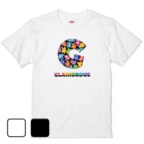 大きいサイズ メンズ Tシャツ 半袖 G BigLogo グラパンPARTY / S M L 2L 3L 4L