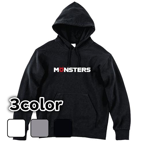 大きいサイズ メンズ パーカー プルオーバー MONSTERS(A) / S M L 2L 3L 4L 5L