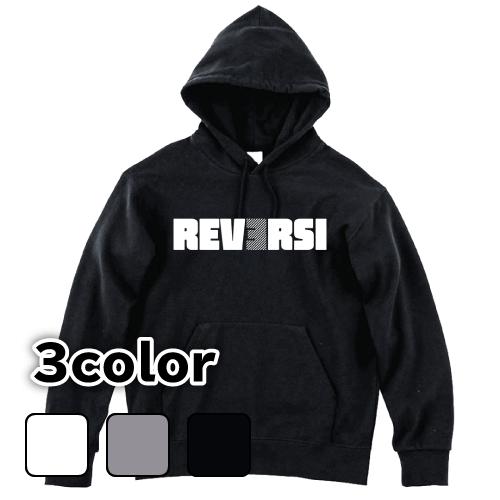 大きいサイズ メンズ パーカー プルオーバー REVERSI(A) / S M L 2L 3L 4L 5L