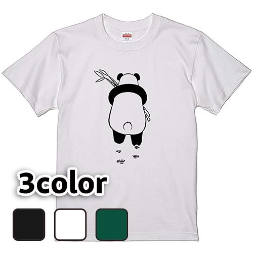 Tシャツ 半袖 大きいサイズ 5.6オンス パンダさんぽ/L 2L 3L 4L 翌日発送可