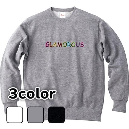 大きいサイズ メンズ クルーネックスウェット トレーナー Basic GLAMOROUS Neon / S M L 2L 3L 4L 5L
