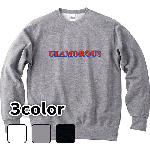 大きいサイズ メンズ クルーネックスウェット トレーナー Basic GLAMOROUS Object / S M L 2L 3L 4L 5L