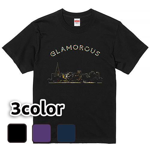 Tシャツ 半袖 大きいサイズ 5.6オンス Basic GLAMOROUS WeekEnd/L 2L 3L 4L 5L 6L 7L/キングサイズ 翌日発送可