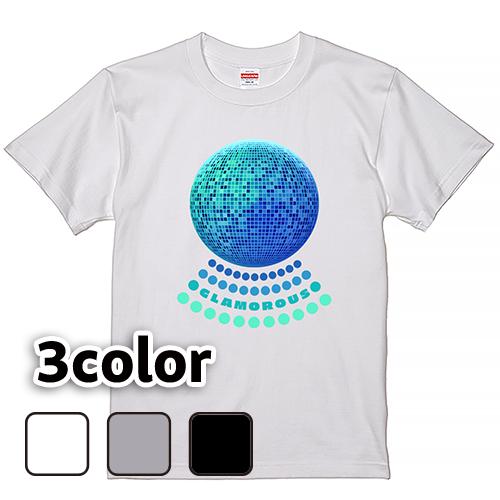 Tシャツ 半袖 大きいサイズ 5.6オンス Basic GLAMOROUS Mirrorball/L 2L 3L 4L 5L 6L 7L/キングサイズ 翌日発送可