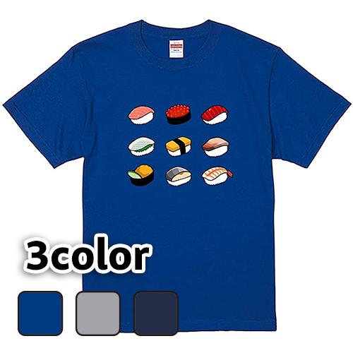 Tシャツ 半袖 大きいサイズ 5.6オンス 寿司パーティー/L 2L 3L 4L 翌日発送可
