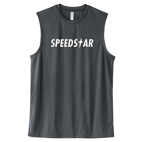 大きいサイズ メンズ ドライノースリーブ トレーニングウェア スポーツ ジム タンクトップ SPEEDSTAR/L 2L 3L