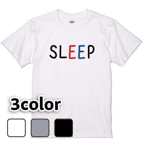 Tシャツ 半袖 大きいサイズ 5.6オンス SLEEP(B)/L 2L 3L 4L 5L 6L 7L/キングサイズ 翌日発送可